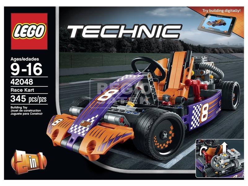 LEGO Technic Verseny gokart 42048