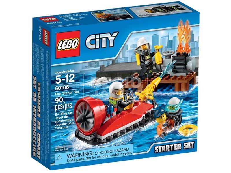 LEGO City Tűzoltó kezdőkészlet 60106