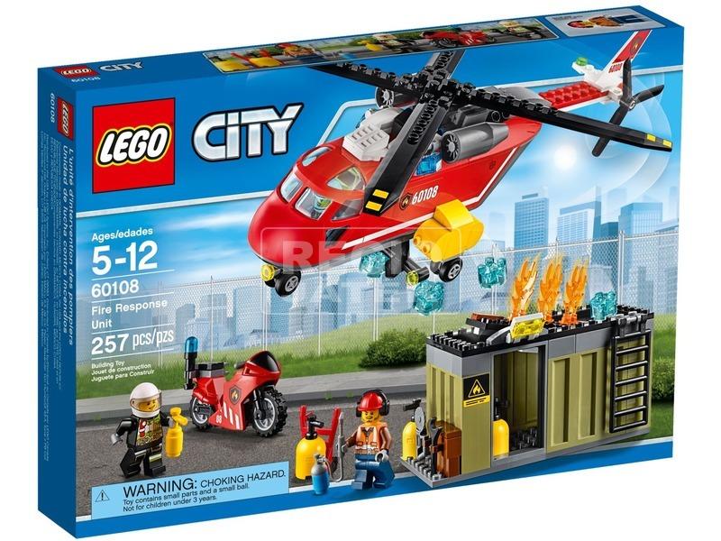 LEGO City Sürgősségi tűzoltó egység 60108