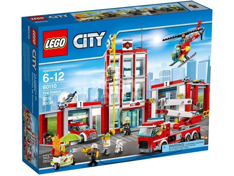 LEGO City Tűzoltóállomás 60110