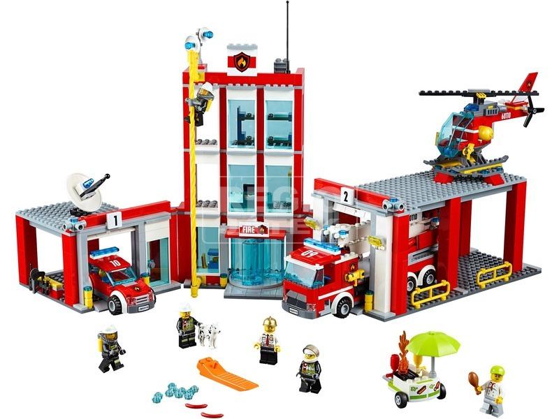 kép nagyítása LEGO® City Tűzoltóállomás 60110
