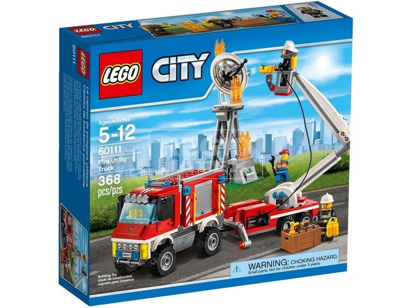 LEGO City Emelőkosaras tűzoltóautó 60111