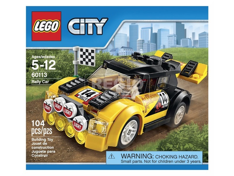 LEGO City Rally autó 60113