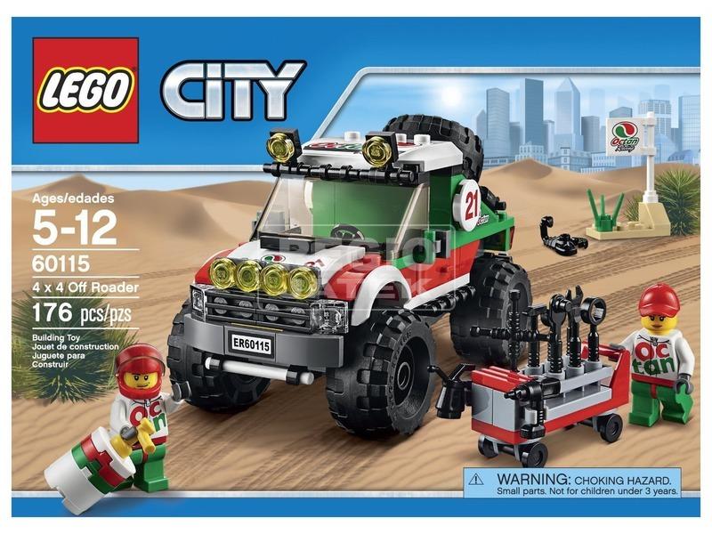 LEGO City 4x4 terepjáró 60115