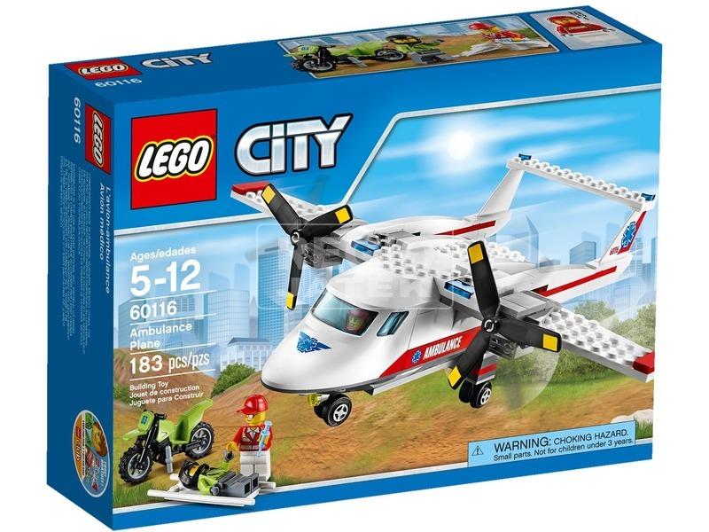 LEGO City Mentőrepülőgép 60116