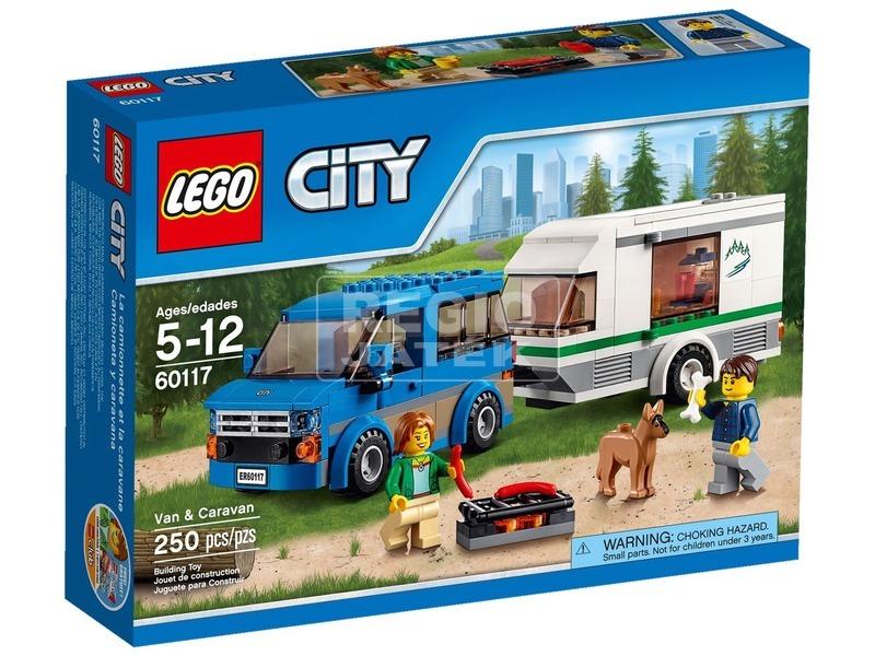 LEGO City Furgon és lakókocsi 60117