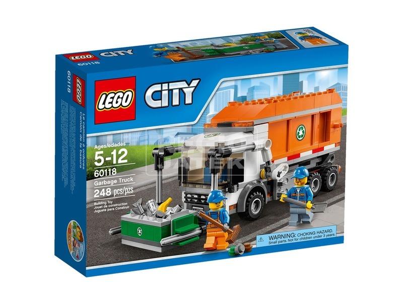 LEGO City Szemetes autó 60118