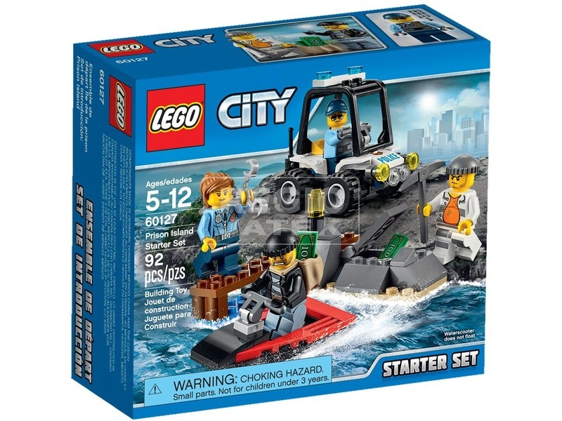 LEGO City Börtönsziget kezdőkészlet 60127