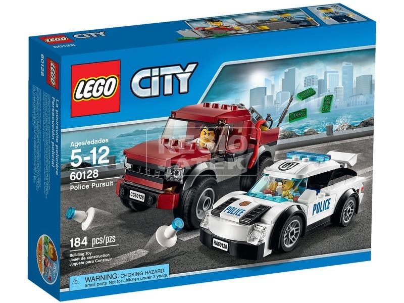 LEGO City Rendőrségi hajsza 60128