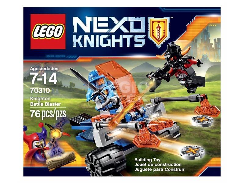 LEGO Nexo Knights Knighton harci rombolója 70310