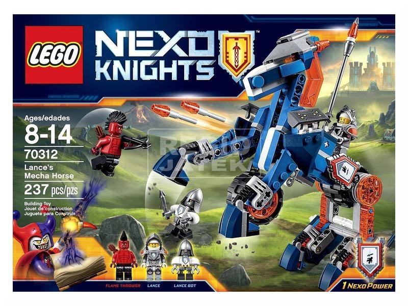LEGO Nexo Knights Lance mechanikus robotlova 70312