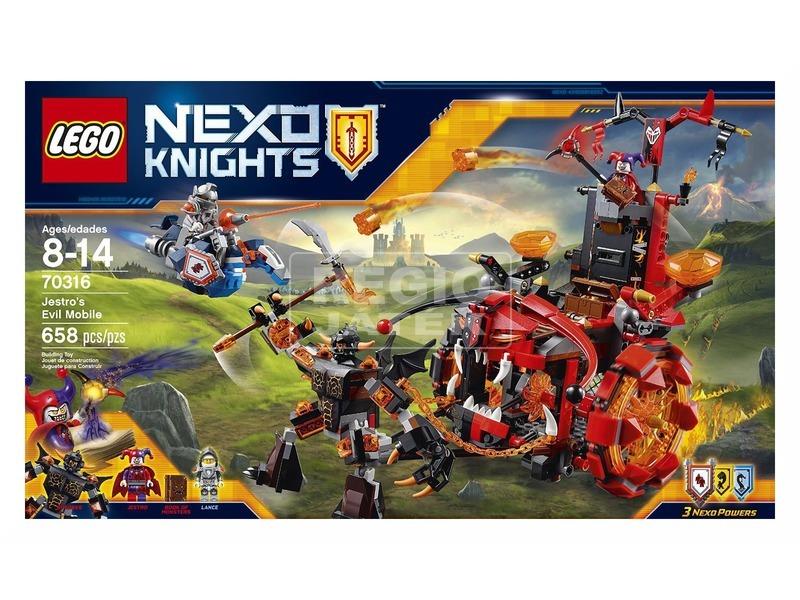 LEGO Nexo Knights Jestro ördögi járműve 70316