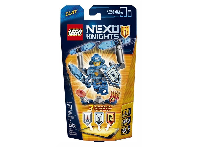 LEGO Nexo Knights Ultimate Clay 70330
