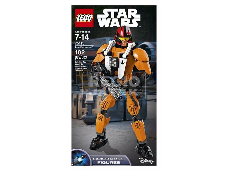LEGO Star Wars Poe Dameron figura 75115