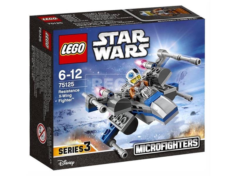 LEGO Star Wars Ellenállás oldali X-Wing űrhajó 75125