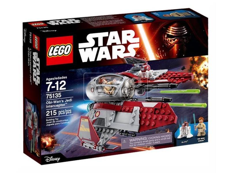 LEGO Star Wars Obi-Wan Jedi elfogója 75135