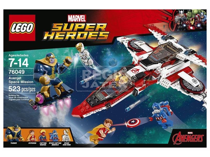 LEGO Super Heroes Avenjet űrkaland 76049