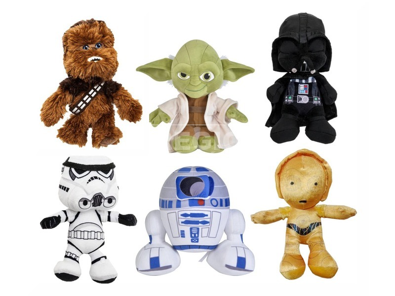 Star Wars plüss 20cm vegyes DDS