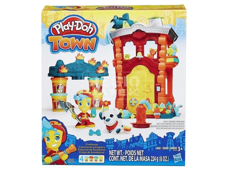 Play-Doh tűzoltó állomás gyurmakészlet