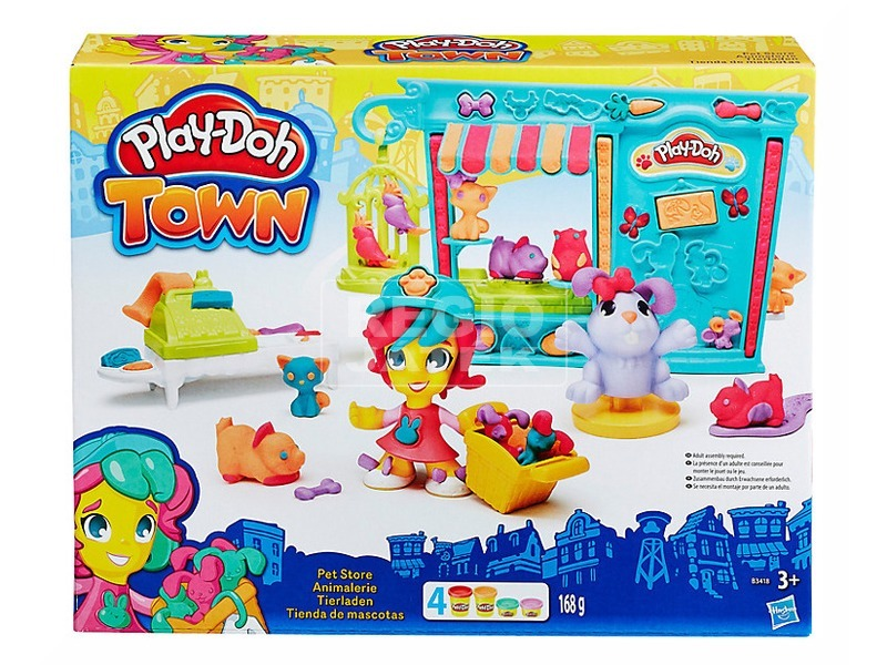 Play-Doh állatbolt gyurmakészlet