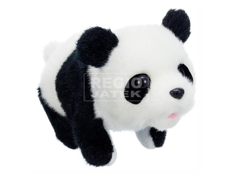 Sétáló pandamaci - 20 cm