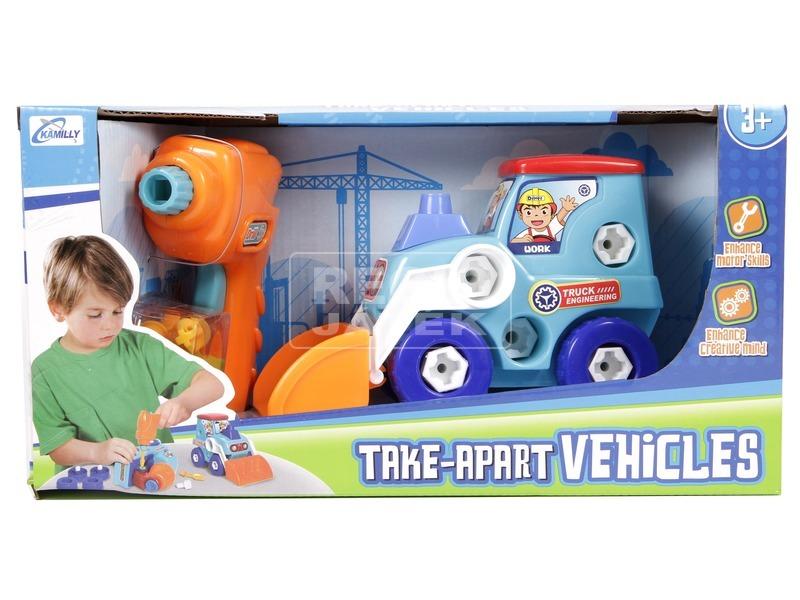 Szerelhető markolós traktor csavarozó készlet