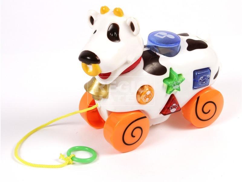 kép nagyítása Húzható zenélő tehén bébijáték
