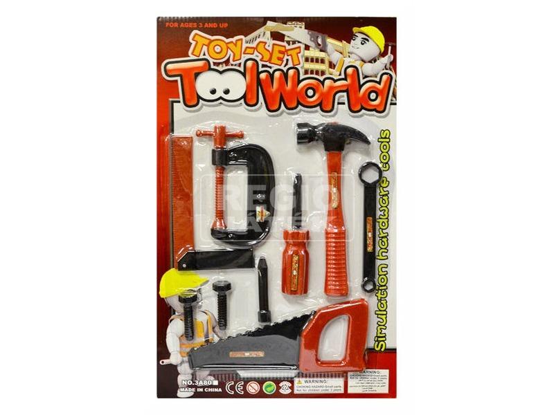Tool World szerszámkészlet 20 darabos