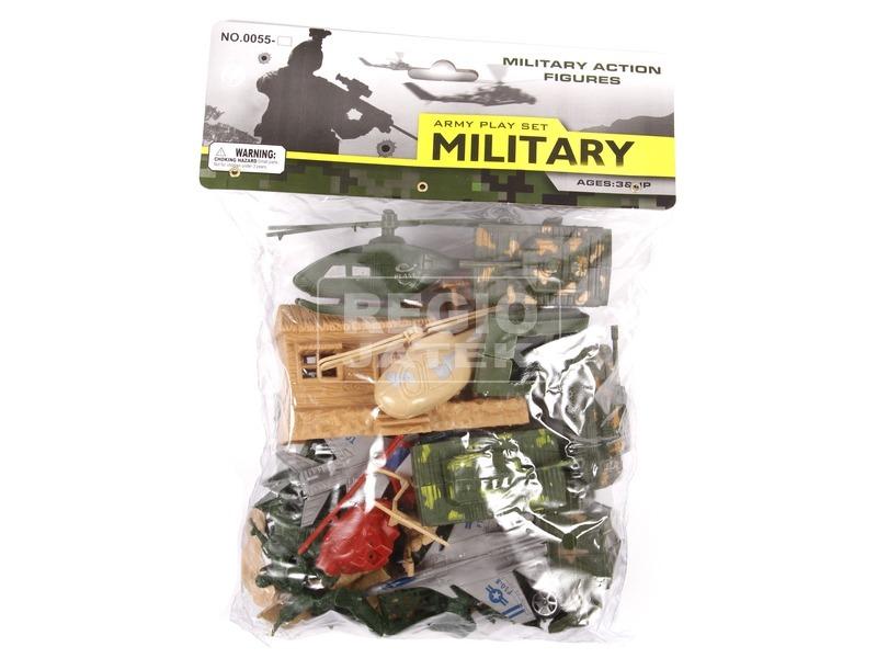 Katonai járművek zacskóban