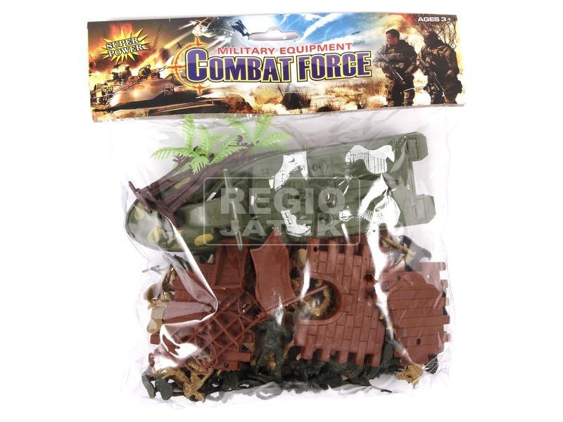 Combat Force katonai figurakészlet