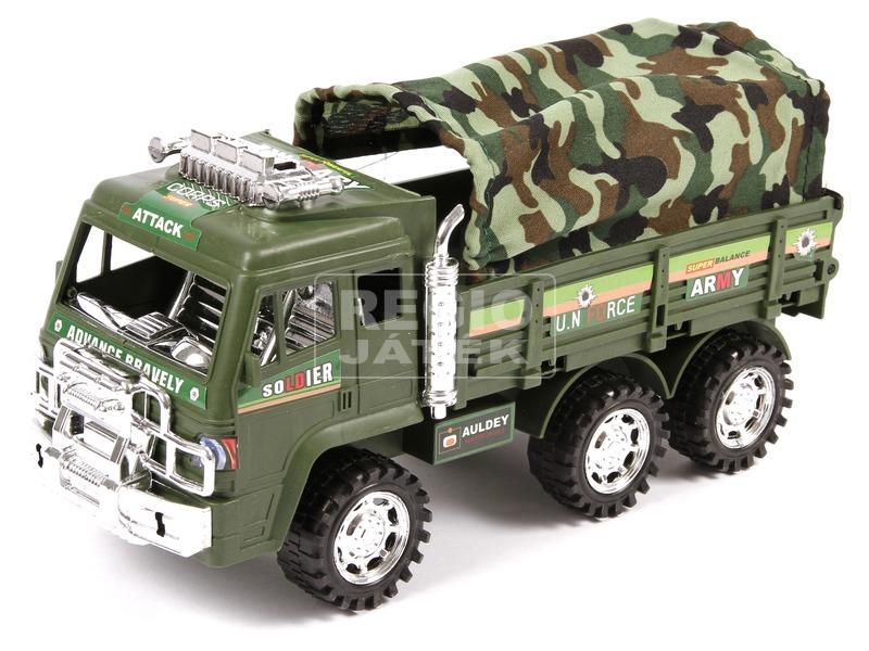 kép nagyítása Katonai teherautó ponyvával - 25 cm