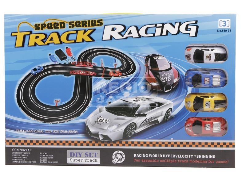 kép nagyítása Track Racing elektromos autópálya - 280 cm