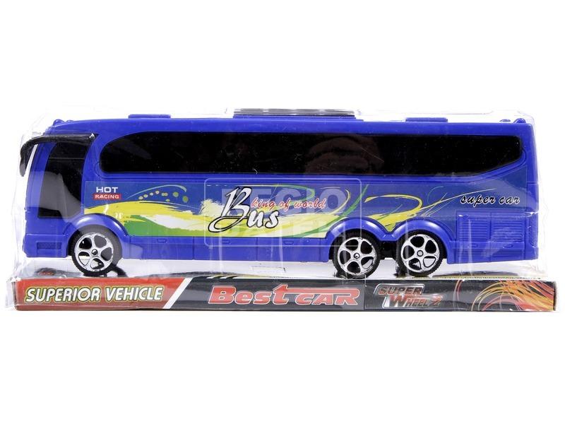 kép nagyítása Műanyag távolsági busz - 25 cm, többféle