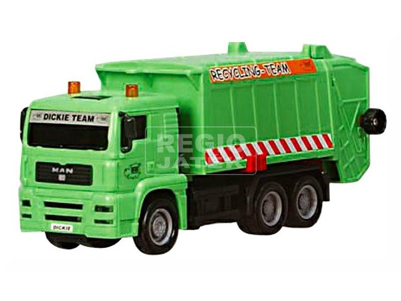 kép nagyítása Dickie City Cleaner kukásautó - 22 cm, többféle