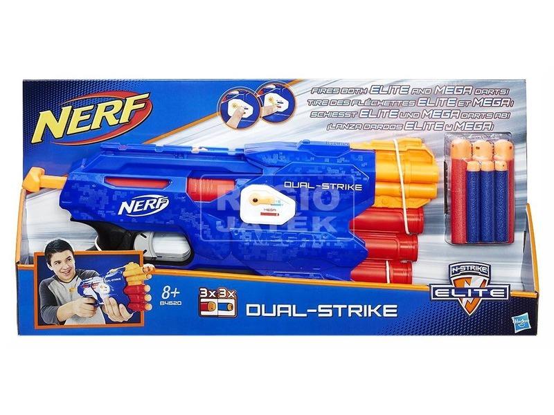 NERF N-Strike Elite Dual Strike szivacslövő fegyver