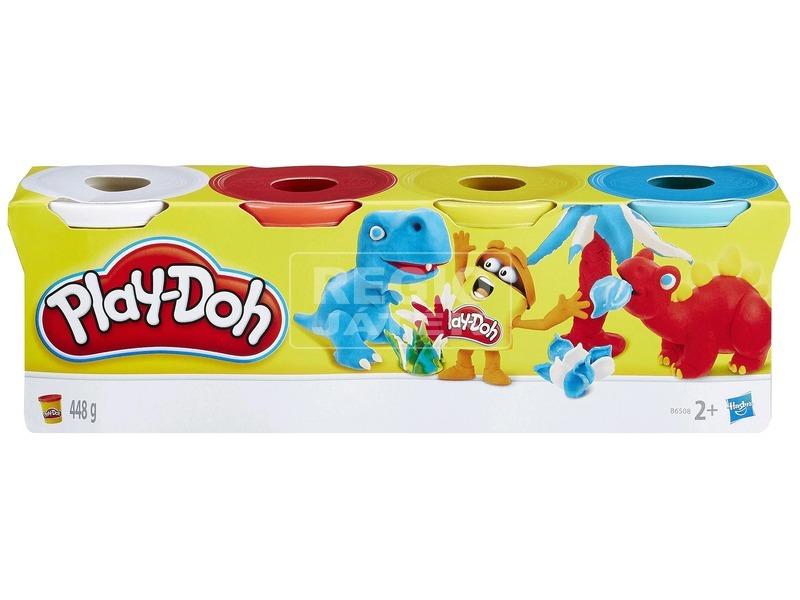 Play-Doh 4 tégelyes gyurma - klasszikus színek