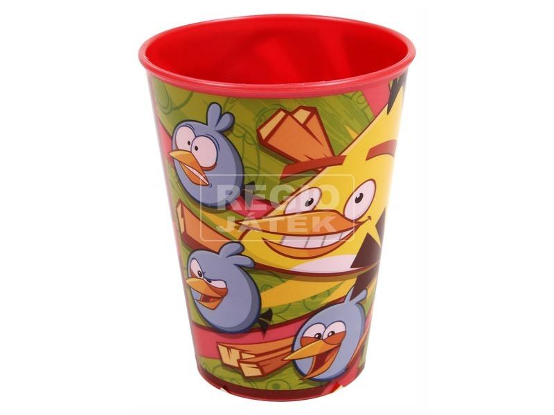 Angry Birds műanyag pohár - piros, 260 ml