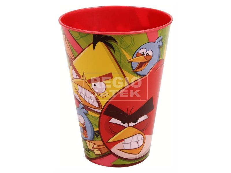 Angry Birds műanyag pohár - piros, 300 ml