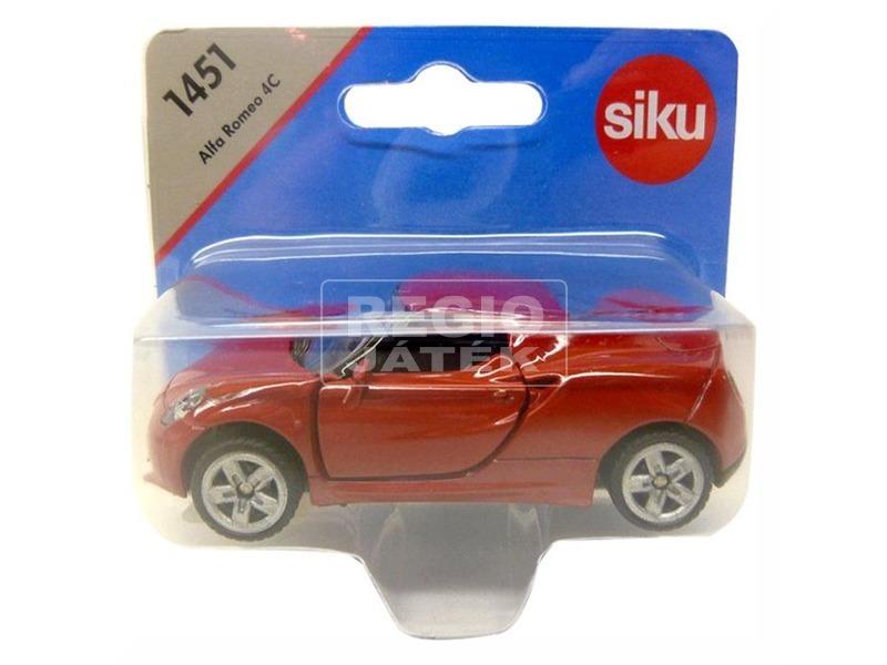 kép nagyítása Siku: Alfa Romeo 4C 1:55 - 1451