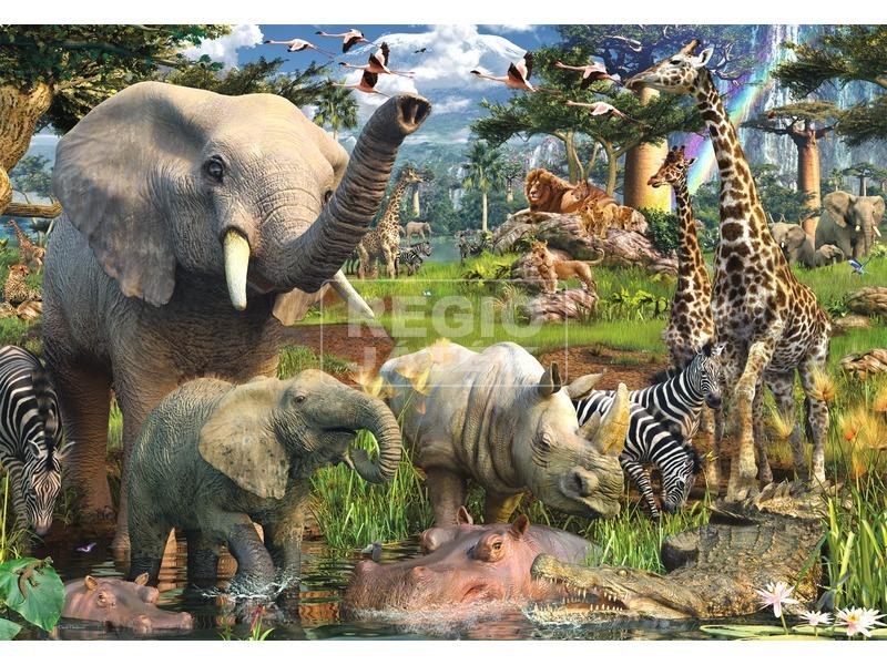 Dzsungel 18 000 darabos puzzle