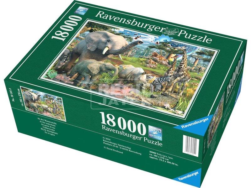 kép nagyítása Dzsungel 18000 darabos puzzle