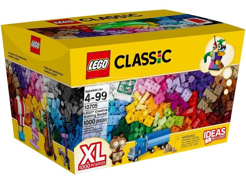 LEGO Classic Kreatív építőkosár 10705