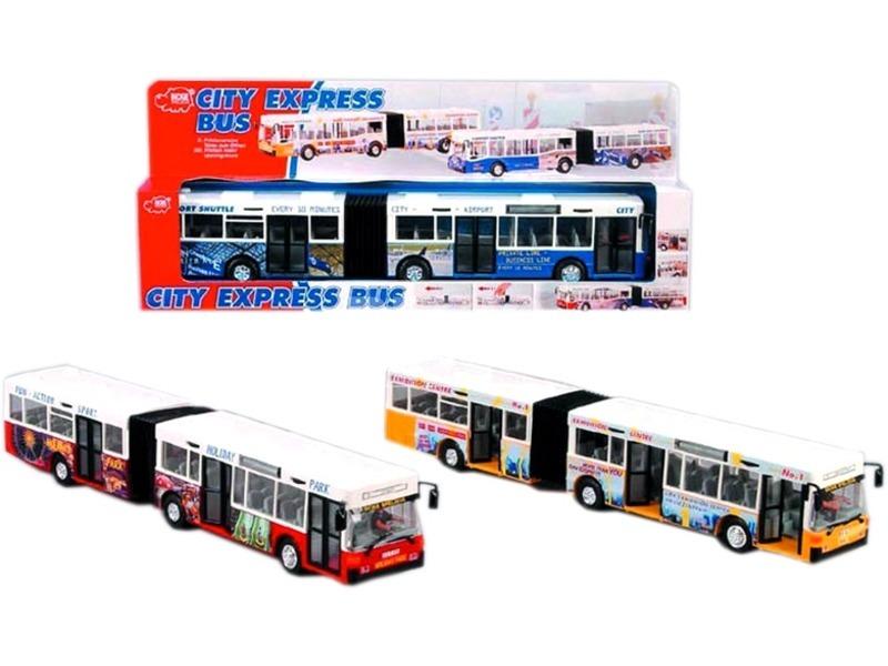 City Express csuklós busz - többféle