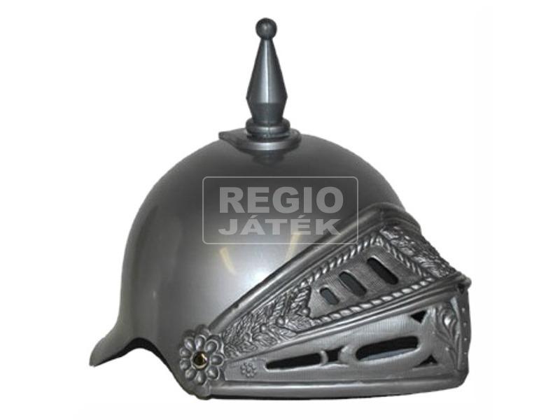 Római sisak, ezüst