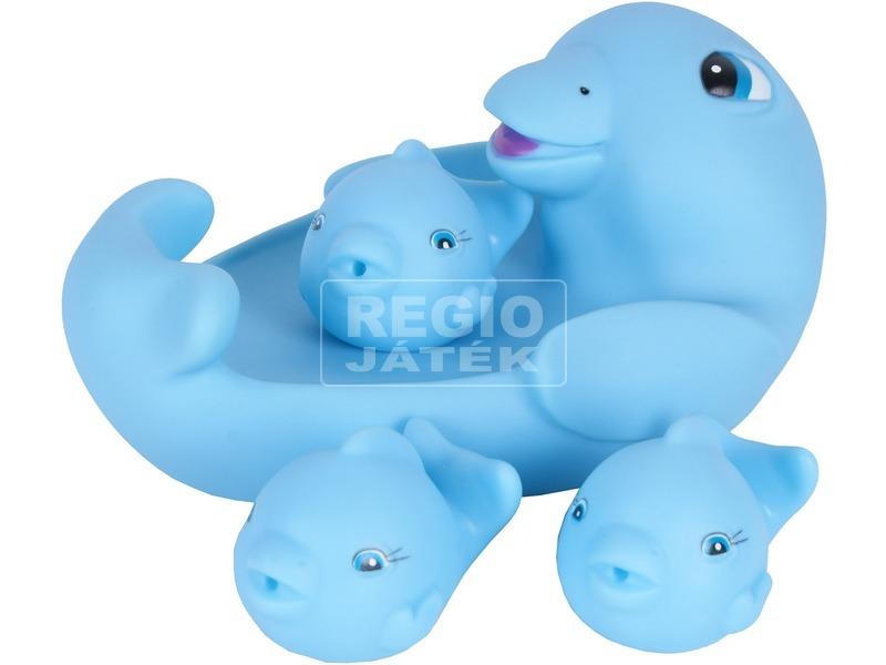 Delfin család 4 darabos fürdőjáték
