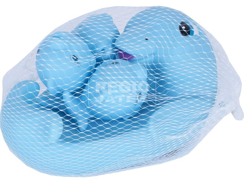 kép nagyítása Delfin család 4 darabos fürdőjáték
