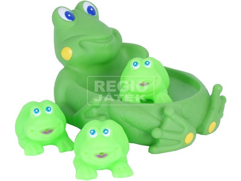 Béka család fürdőjáték