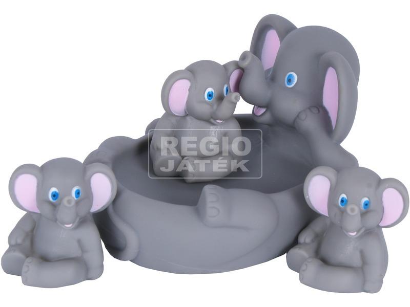 Elefántcsalád fürdőjáték