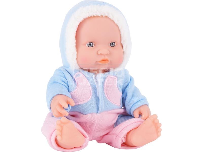 Játékbaba téli ruhában - 24 cm, többféle