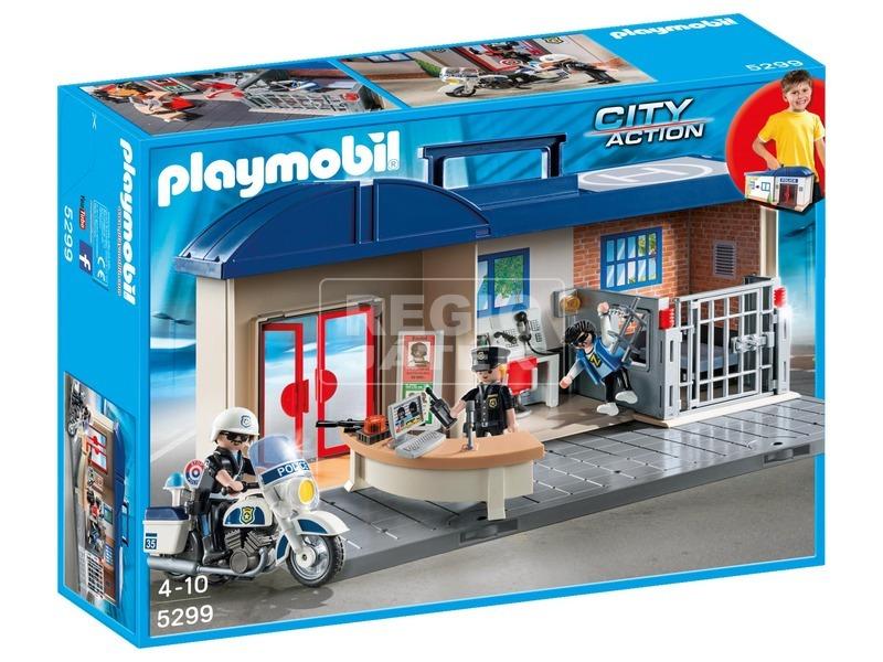 Playmobil Hordozható rendőrállomás 5299